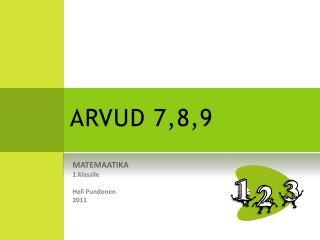 ARVUD 7,8,9