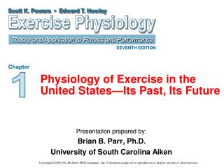Physiology of Exercise in the United States—Its Past, Its Future
