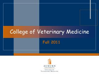 College of Veterinary Medicine