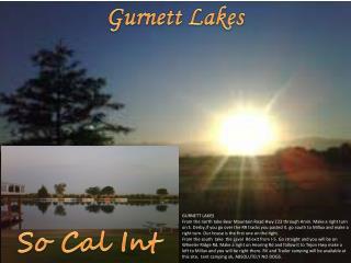 GURNETT LAKES