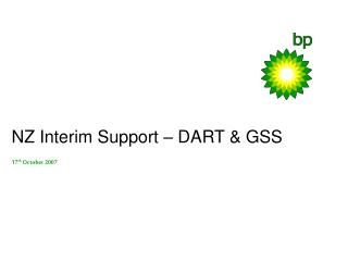 NZ Interim Support – DART & GSS