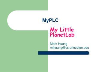 MyPLC
