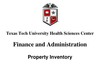 Texas Tech University Health Sciences Center Finance and Administration