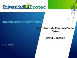 TRANSMISION DE VOZ Y DATOS