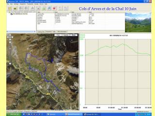 Cols d'Arves et de la Chal 10 Juin