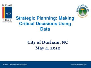 Strategic Planning: Making Critical Decisions Using Data