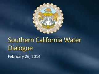 Southern California Water Dialogue