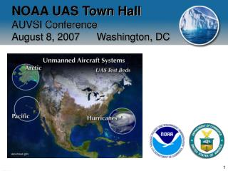 NOAA UAS Town Hall AUVSI Conference August 8, 2007      Washington, DC