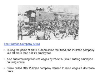 The Pullman Company Strike