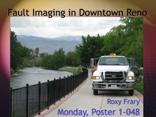 Fault Imaging in Downtown Reno