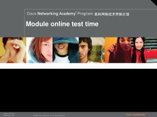 Module online test time