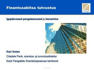 Finantsaabitsa tutvustus