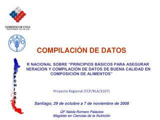 COMPILACIÓN DE DATOS