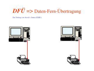 DF�  =>  Daten-Fern-�bertragung