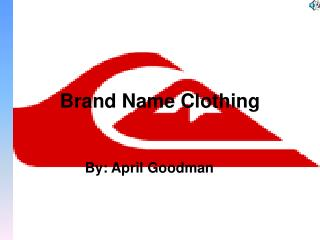 Brand Name Clothing