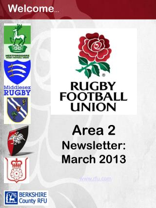 Area 2 Newsletter: March 2013