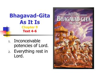 Bhagavad-Gita  As It Is Chapter 9 Text 4-6