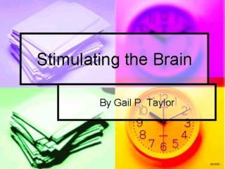 Stimulating the Brain