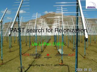 PAST  search for Reionization