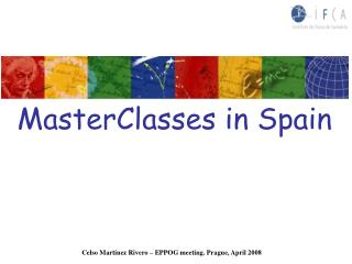 MasterClasses in Spain