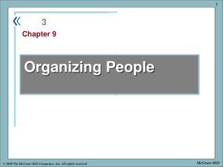 Organizing People