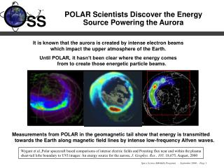 POLAR Scientists Discover the Energy  Source Powering the Aurora