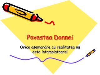 Povestea Donnei