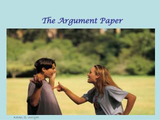The Argument Paper