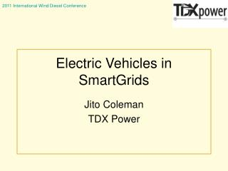 Electric Vehicles in SmartGrids