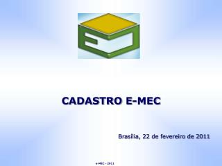 CADASTRO E-MEC