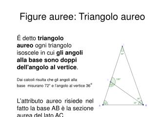 Figure auree: Triangolo aureo