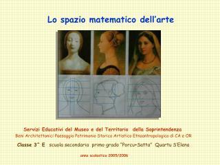 Lo spazio matematico dell'arte