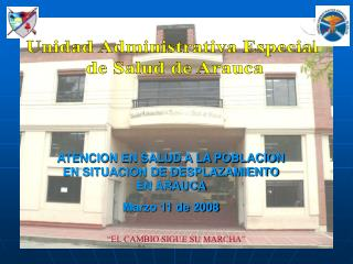 Unidad Administrativa Especial  de Salud de Arauca