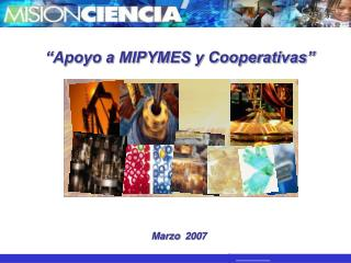 Apoyo a MIPYMES y Cooperativas