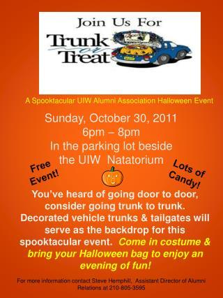 A Spooktacular UIW Alumni Association Halloween Event