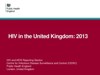 HIV in the United Kingdom: 2013