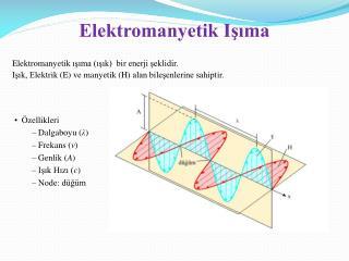 Elektromanyetik Işıma