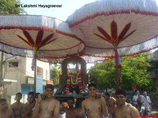 Sri Lakshmi Hayagreevar