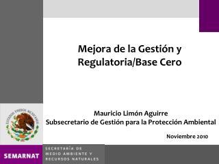 Mejora de la Gesti n y Regulatoria