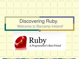 Discovering Ruby .