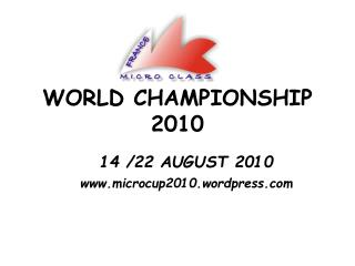 WORLD CHAMPIONSHIP 2010