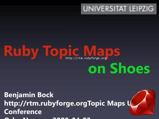 Ruby Topic  Maps on Shoes