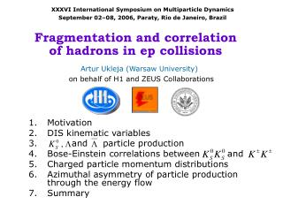 Fragmentation and correlation  of hadrons in ep collisions