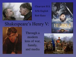 Shakespeare�s Henry V: