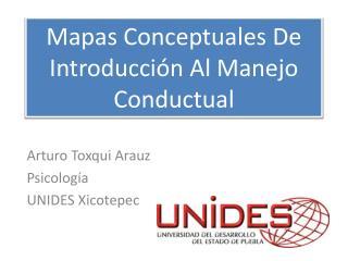 Mapas Conceptuales De Introducción Al Manejo Conductual