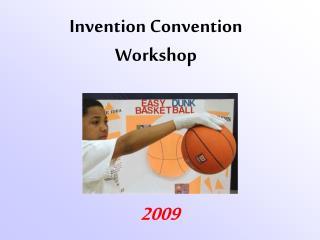 Invention Convention Workshop