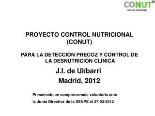 J.I. de Ulíbarri Madrid, 2012
