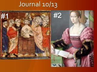Journal 10/13
