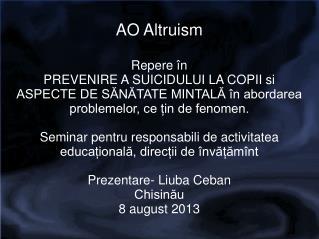 AO Altruism