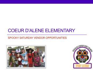 COEUR D'ALENE ELEMENTARY